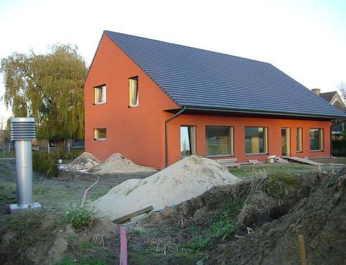 Passiefhuis in Veldegem (2010)