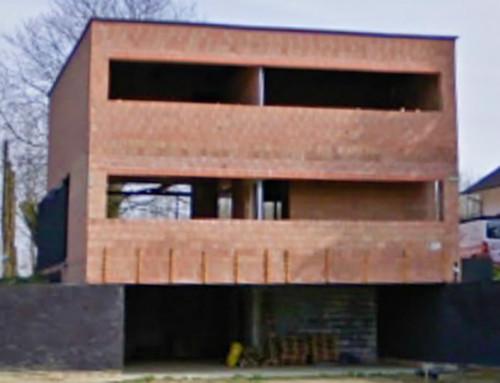 Nieuwbouw woning in Sint-Lievens-Esse (2010)