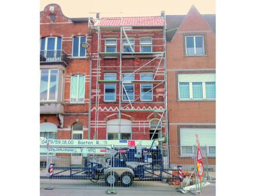 Renovatie rijwoning in Tienen (2011)