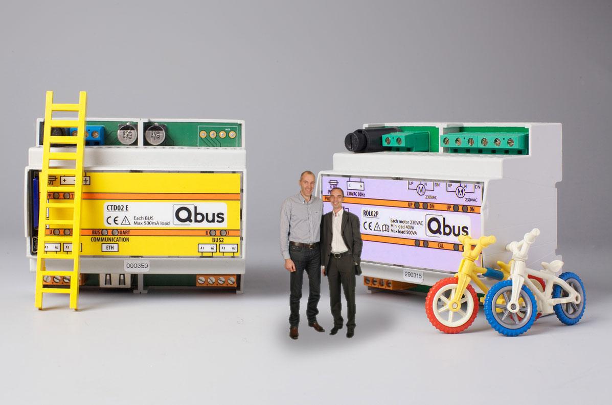 Team bij Qbus modules